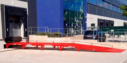 Rampas de carga para vehículos comerciales AUSBAU-VR